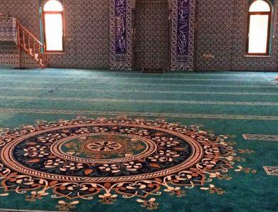 Sağlıklı Kaliteli Cami Halısı
